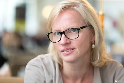 Britta Kierdorf beim Interview mit Janetts Meinung