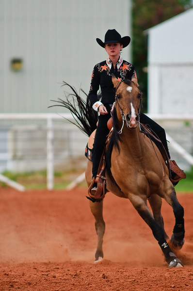Leah Kuehn helps OSU's equestrian team win over Texas Tech.