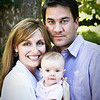 Jessica, Scott & Emory : Family photo session: Emory at three months.