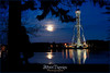 Pleine lune de mai à la Cité de l'Énergie,  Shawinigan