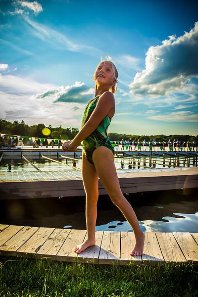 Indian Lake Swim Club. © 2012 Joanne Milne Sosangelis. All rights reserved.