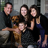 Justin W & Family : Family portrait session
