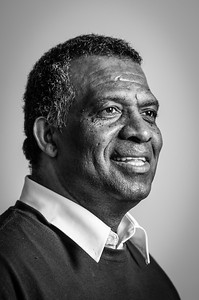 WATERLOO, Ont. (02/08/2015) - Karl Subban poses for a portrait after speaking at The Team Subban Story hosted by the Caribbean Canadian Association of Waterloo Region Sunday afternoon.  Photo by Alicia Wynter