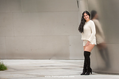 Beatiful High School Photo Session at Disney Concert Hall