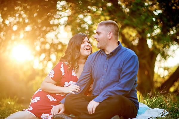 kathy & Michael engagement portrait