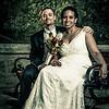 Kathy and Matt: Wedding in Paseo de la Princessa : Wedding and reception: Paseo de la Princessa, Old San Juan, Puerto Rico