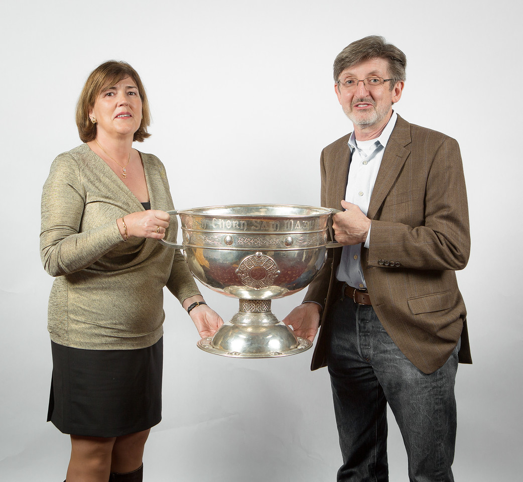Kerry Function at UICC with Sam Maguire, 2015