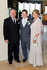 The groom with his parents