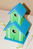 Hand painted bird houses