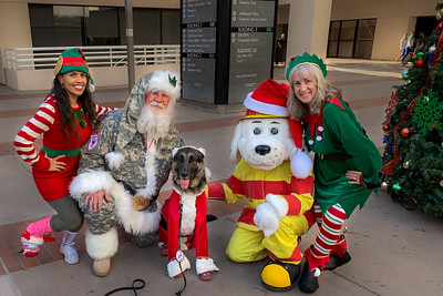 Santa Zeus @ Naval Medical Center