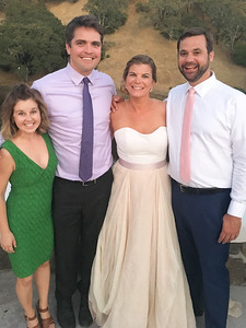 3 cousins plus the groom