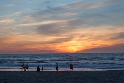 Pacific Beach Sunset 6231