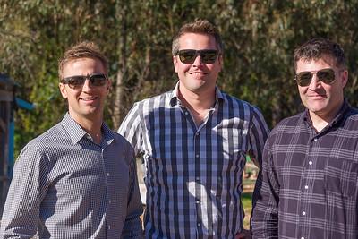Cousins Nick, Tyler, Bryan