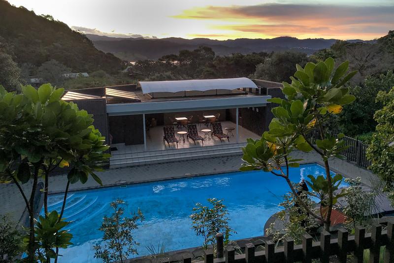 Sunset and Puka Park pool 6324