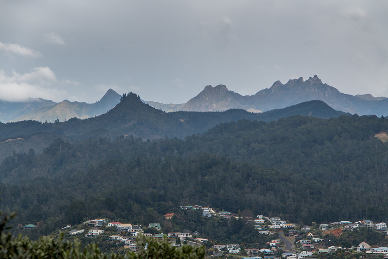 Pinnacles above Tairua 5682