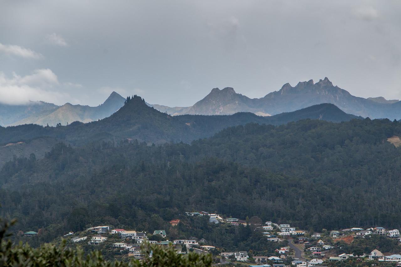 Pinnacles above Tairua 5682