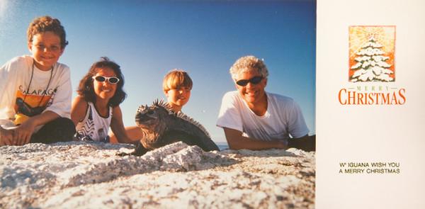1996 Galapagos Iguana