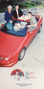2001 Santa's Sleigh
