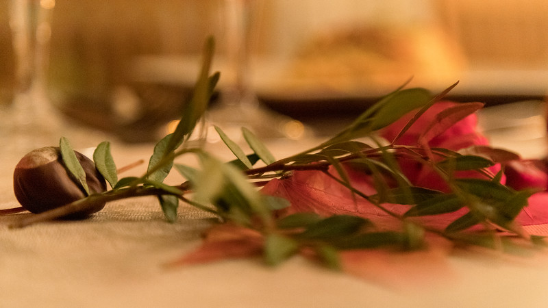 l'automne sur la table
