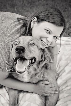 2016 July Kristin Burks and Cooper-44 BW