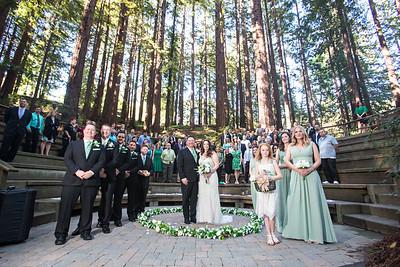 UC Berkeley Botanical Wediding, Piedmont Communital Hall Wedding, UC  Botanical Gardens Redwood Grove Wedding