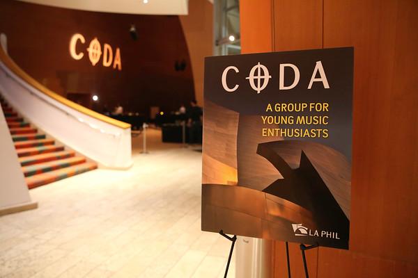 LA Philharmonic CODA Event