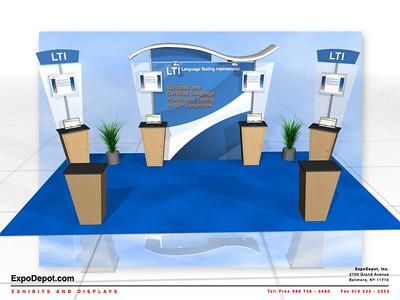 LTI, Alumalite 10x20 Custom Rendering http://expodepot.com/alumalite-displays-c-360.html