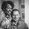 LaTrina & Paul: Engagement : Engagement session at Butler University