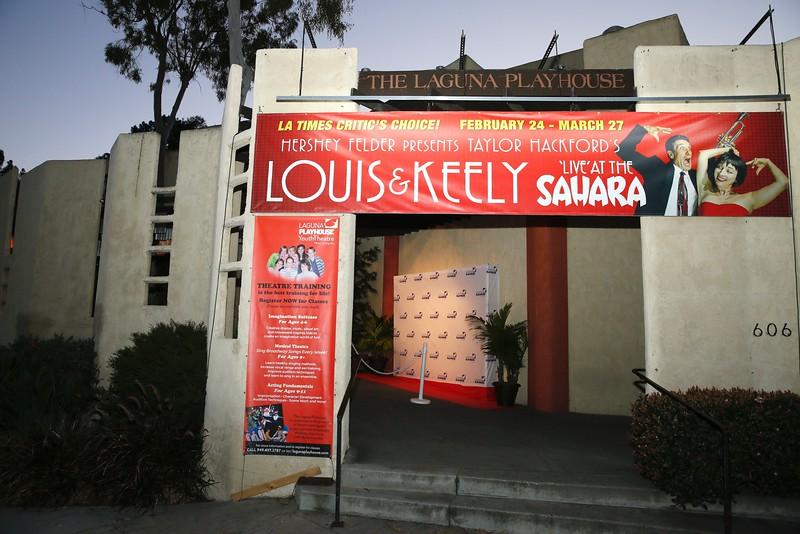 """""""Louis & Keely 'Live' at the Sahara"""", Laguna Beach, America - 27 Feb 2016"""