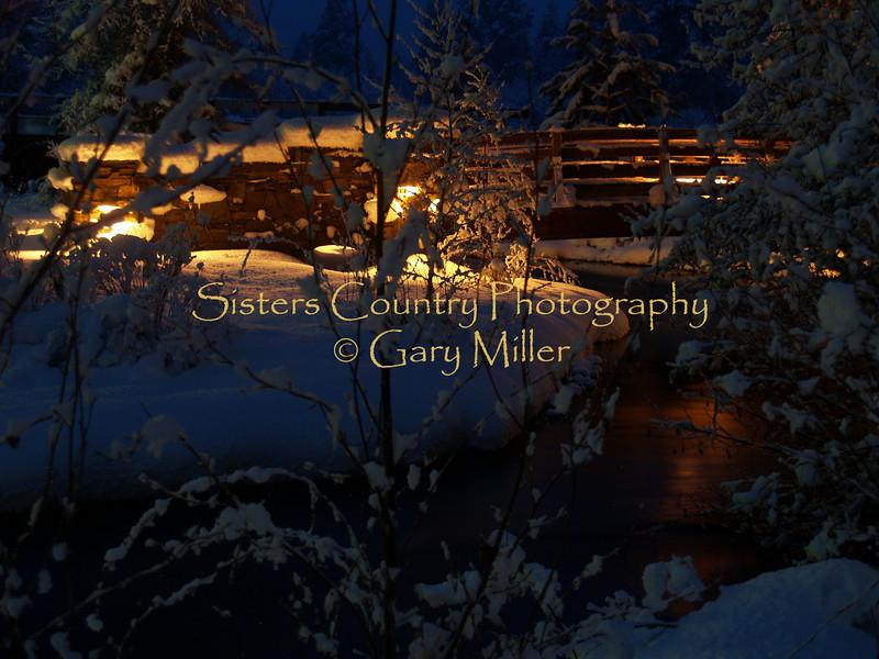 OLYMPUS DIGITAL CAMERA Lake Creek Lodge, Camp Sherman, Oregon - Winter 2007 - Photography by Gary Miller