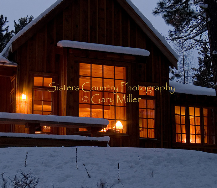 Lake Creek Lodge, Camp Sherman, Oregon - Winter 2007 - Photography by Gary Miller