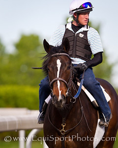 Psalm Singer at Keeneland 4.10.2012.