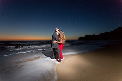Half moon bay Ritz Carlton engagement photos - Lavette and Francisco more photos-25