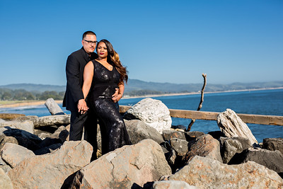 Half moon bay Ritz Carlton engagement photos - Lavette and Francisco more photos-1