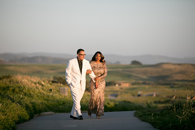 Half moon bay Ritz Carlton engagement photos - Lavette and Francisco more photos-26