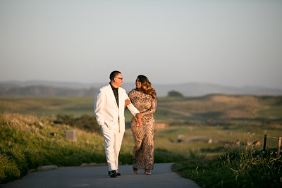 Half moon bay Ritz Carlton engagement photos - Lavette and Francisco more photos-28