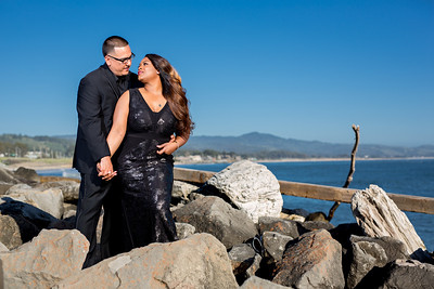 Half moon bay Ritz Carlton engagement photos - Lavette and Francisco more photos-4