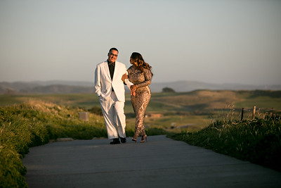 Half moon bay Ritz Carlton engagement photos - Lavette and Francisco more photos-30
