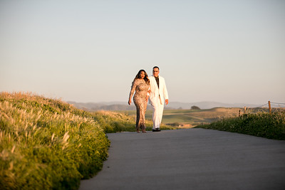 Half moon bay Ritz Carlton engagement photos - Lavette and Francisco more photos-36