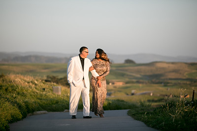 Half moon bay Ritz Carlton engagement photos - Lavette and Francisco more photos-27
