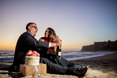 Half moon bay Ritz Carlton engagement photos - Lavette and Francisco more photos-21