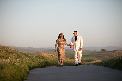 Half moon bay Ritz Carlton engagement photos - Lavette and Francisco more photos-33