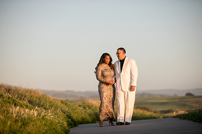 Half moon bay Ritz Carlton engagement photos - Lavette and Francisco more photos-35
