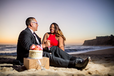 Half moon bay Ritz Carlton engagement photos - Lavette and Francisco more photos-17
