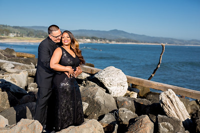 Half moon bay Ritz Carlton engagement photos - Lavette and Francisco more photos-3