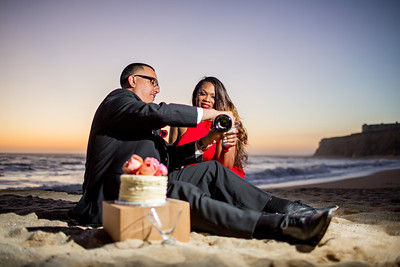 Half moon bay Ritz Carlton engagement photos - Lavette and Francisco more photos-22