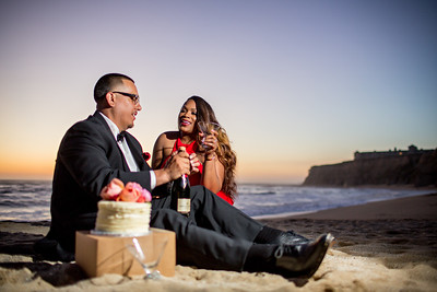 Half moon bay Ritz Carlton engagement photos - Lavette and Francisco more photos-18