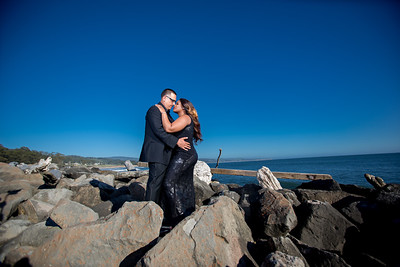 Half moon bay Ritz Carlton engagement photos - Lavette and Francisco more photos-5