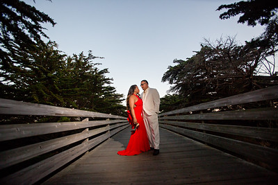 Half moon bay Ritz Carlton engagement photos - Lavette and Francisco more photos-14