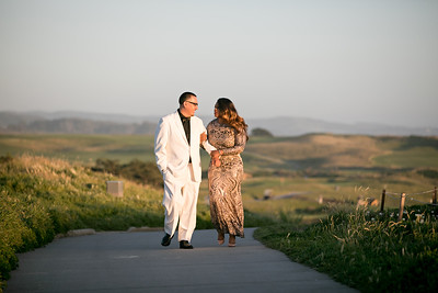 Half moon bay Ritz Carlton engagement photos - Lavette and Francisco more photos-29